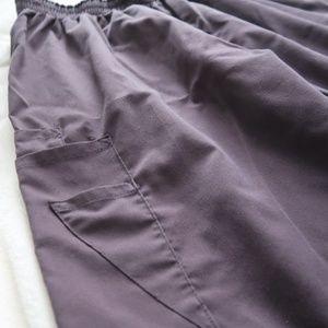 Black Scrub Pants Size M